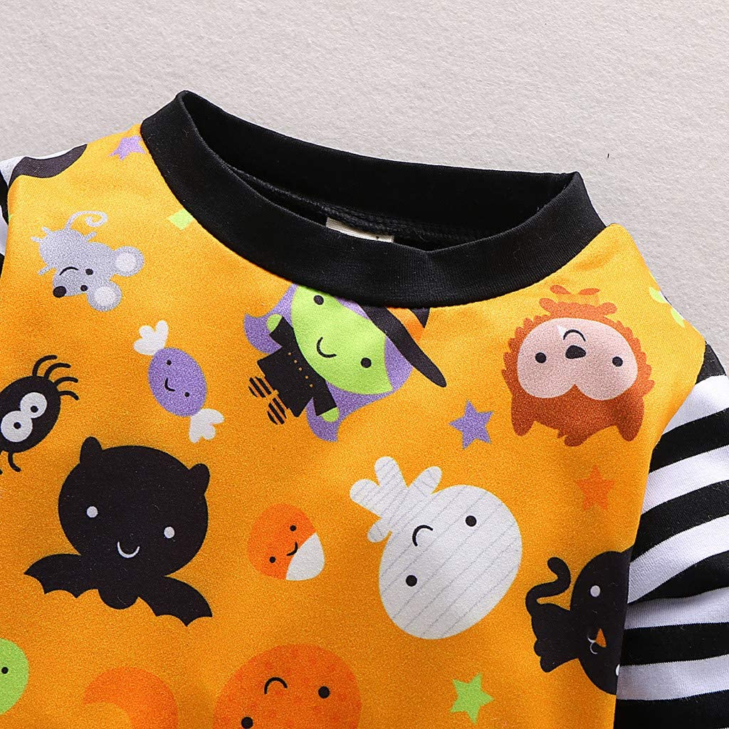 KONFA Toddler Infant Baby Girls Boys Autumn Winter Clothes,Long Sleeve Sleep n Play Romper Bodysuit Jumpsuit Set