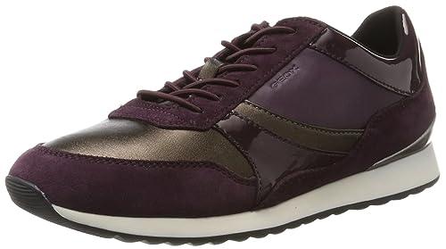 Zapatos Y Mujer Para E es Amazon D Geox Zapatillas Deynna wAfO7qxP
