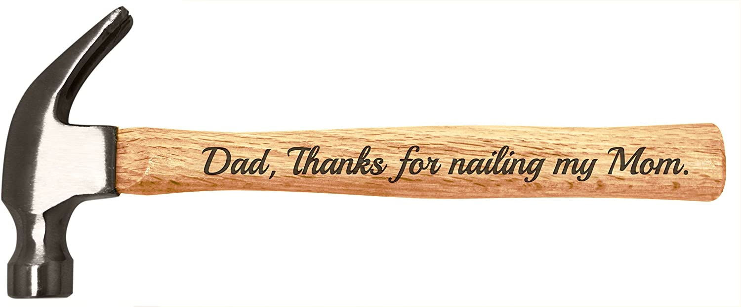 1 Piece Carved Best Dad Ever Key Chain Father Family Gift Key Holder Wooden