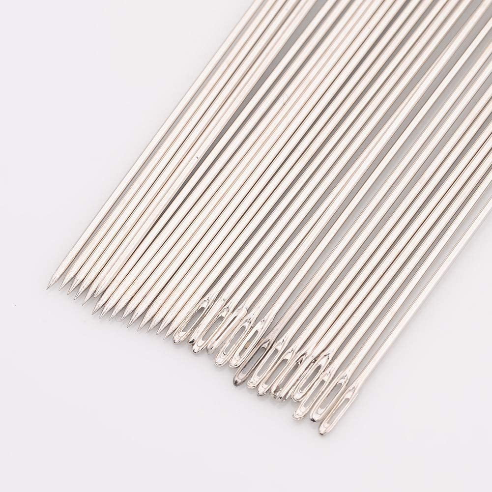 ARRICRAFT 5 Bags Beading Needles Threading String Cord Pins Hand Tools for DIY Jewellry Making 80mm Long 30pcs//Bag