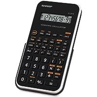 Sharp EL-501XB - Calculadora (Bolsillo, Scientific calculator, Negro, Color blanco, LR-1130)