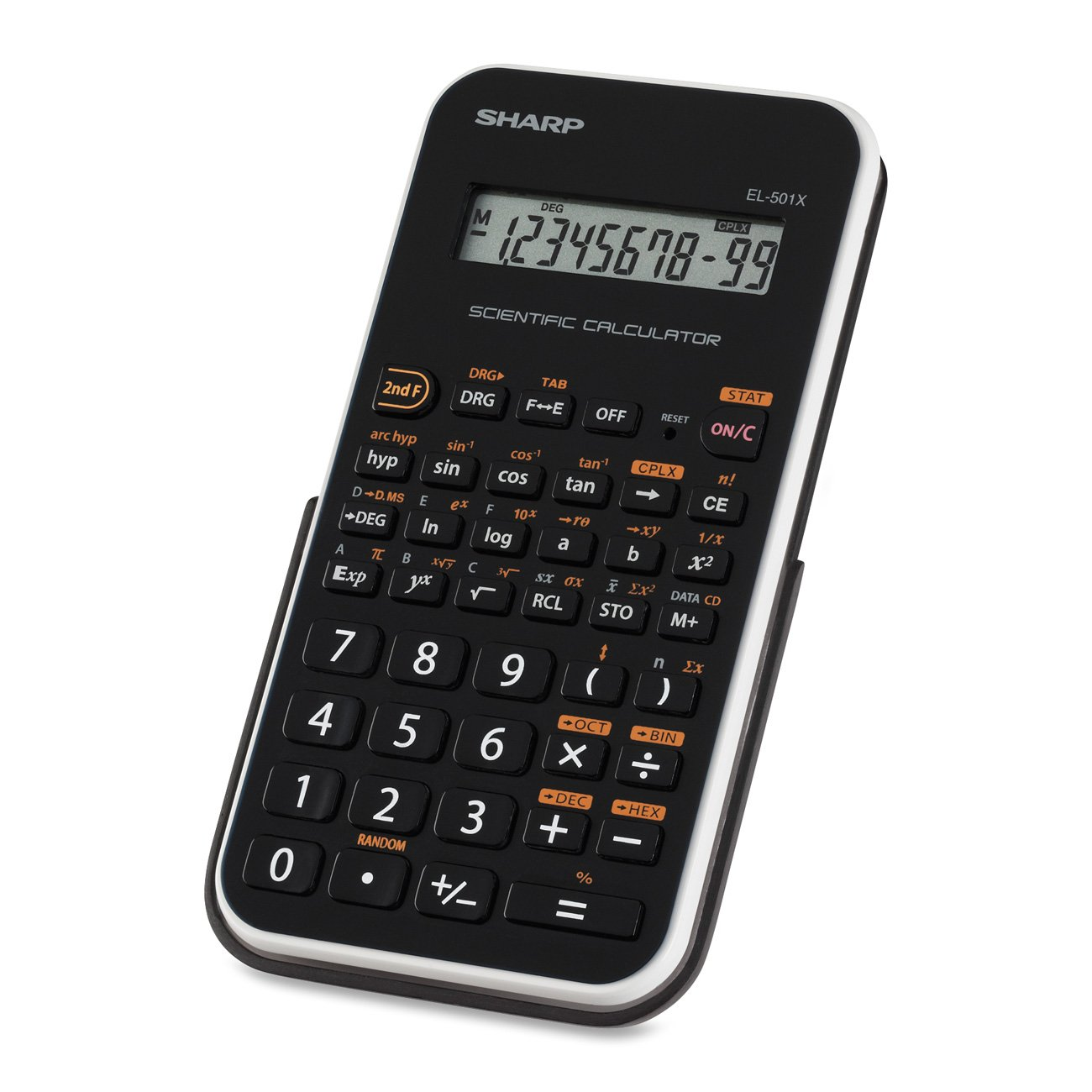 com sharp el501xbwh engineering scientific calculator  com sharp el501xbwh engineering scientific calculator electronics