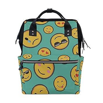 Amazon.com | College Bookbag Emoji Smiley