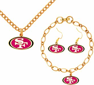 NFL San Francisco 49ERs Jewelry Set