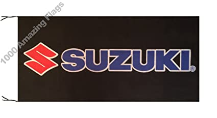 SUZUKI 5x3ft FLAG BANNER GSX HAYABUSA BOULEVARD GSXR KATANA