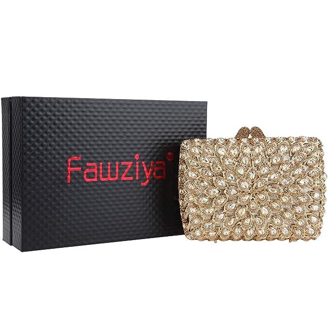 Amazon.com: fawziya Multicolor Piedra y bolsos Diseñador ...