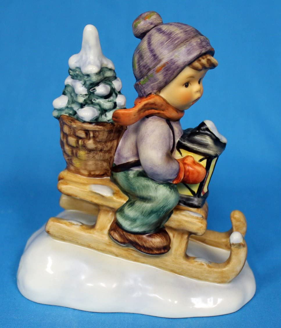 Hummel MI Hummel Figurines Ride INTO Christmas 4.25