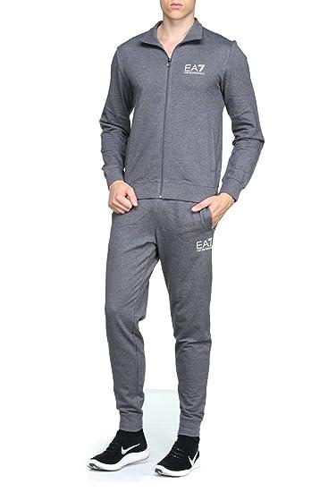 8d5af5f5ef94a Armani EA7 Men`s Tracksuit - S6YPV51 - Dark Grey: Amazon.co.uk: Clothing