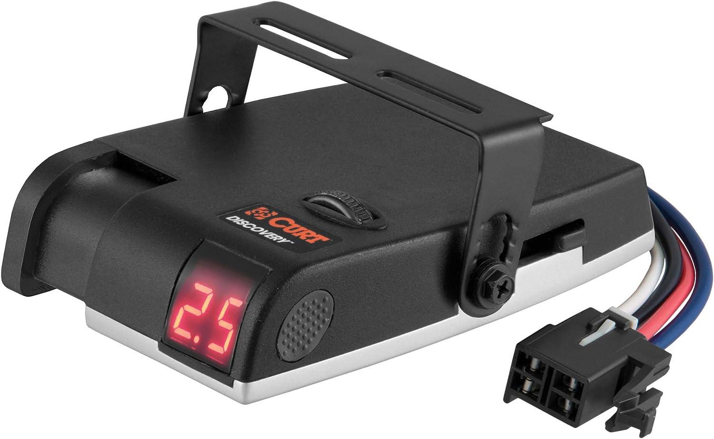 [TVPR_3874]  Amazon.com: CURT 51120 Discovery Electric Trailer Brake Controller,  Time-Delay: Automotive | Curt Trailer Brake Wiring Diagram |  | Amazon.com