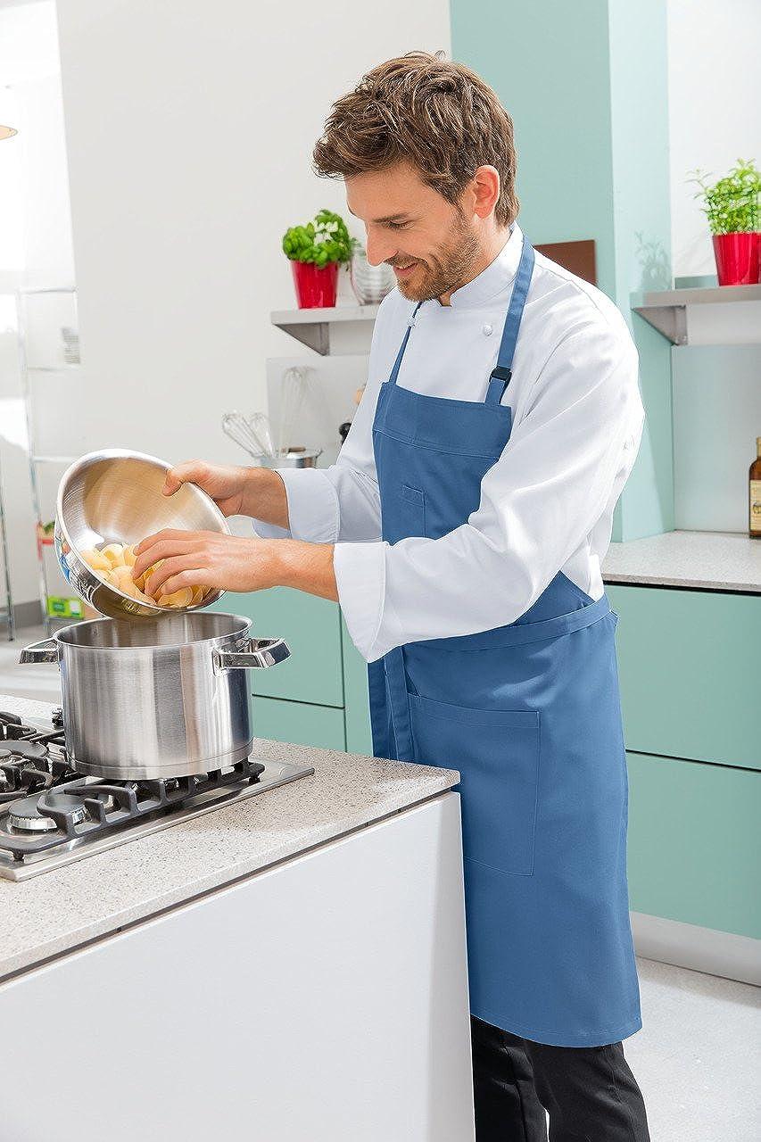 JOBELINE Mens Long Sleeve Chef Jacket