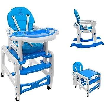 Baby Hochstuhl Mit Tisch.Kindereo 5 In1 Multi Kinderhochstuhl Stuhl Kombihochstuhl