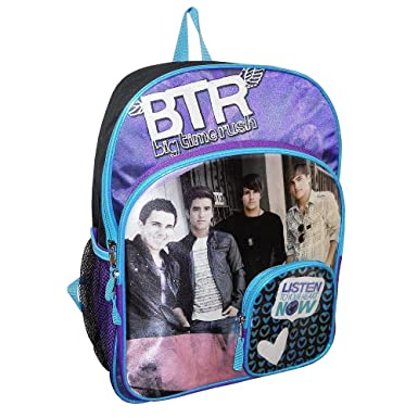 77b335372d2d Big Time Rush 16 inch Backpack
