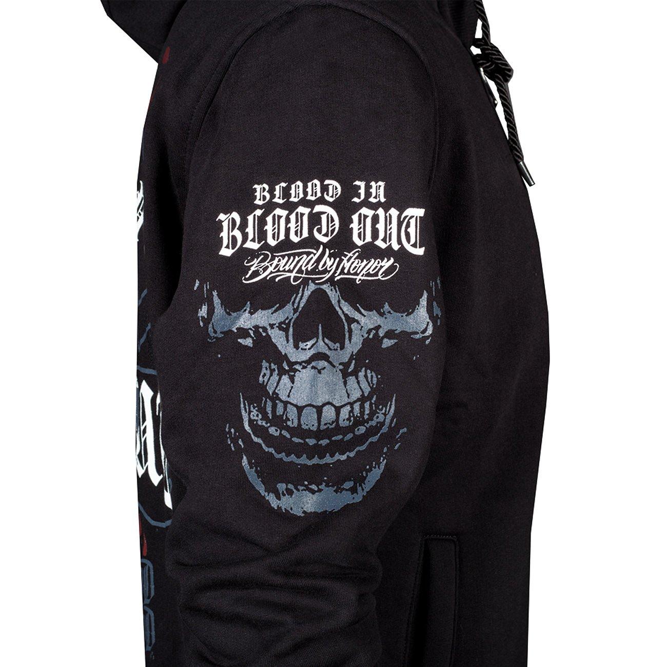 Blood In Blood Out Sonora Zip Hoodie M: : Bekleidung