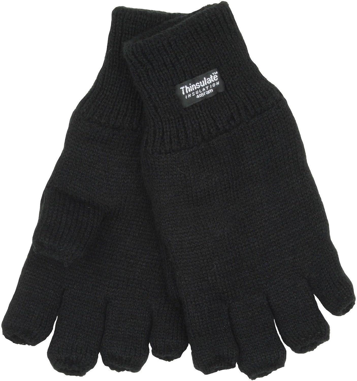 New REGATTA Thinsulate Winter Warm Thermal Fleece Gloves Black Navy 2 Sizes