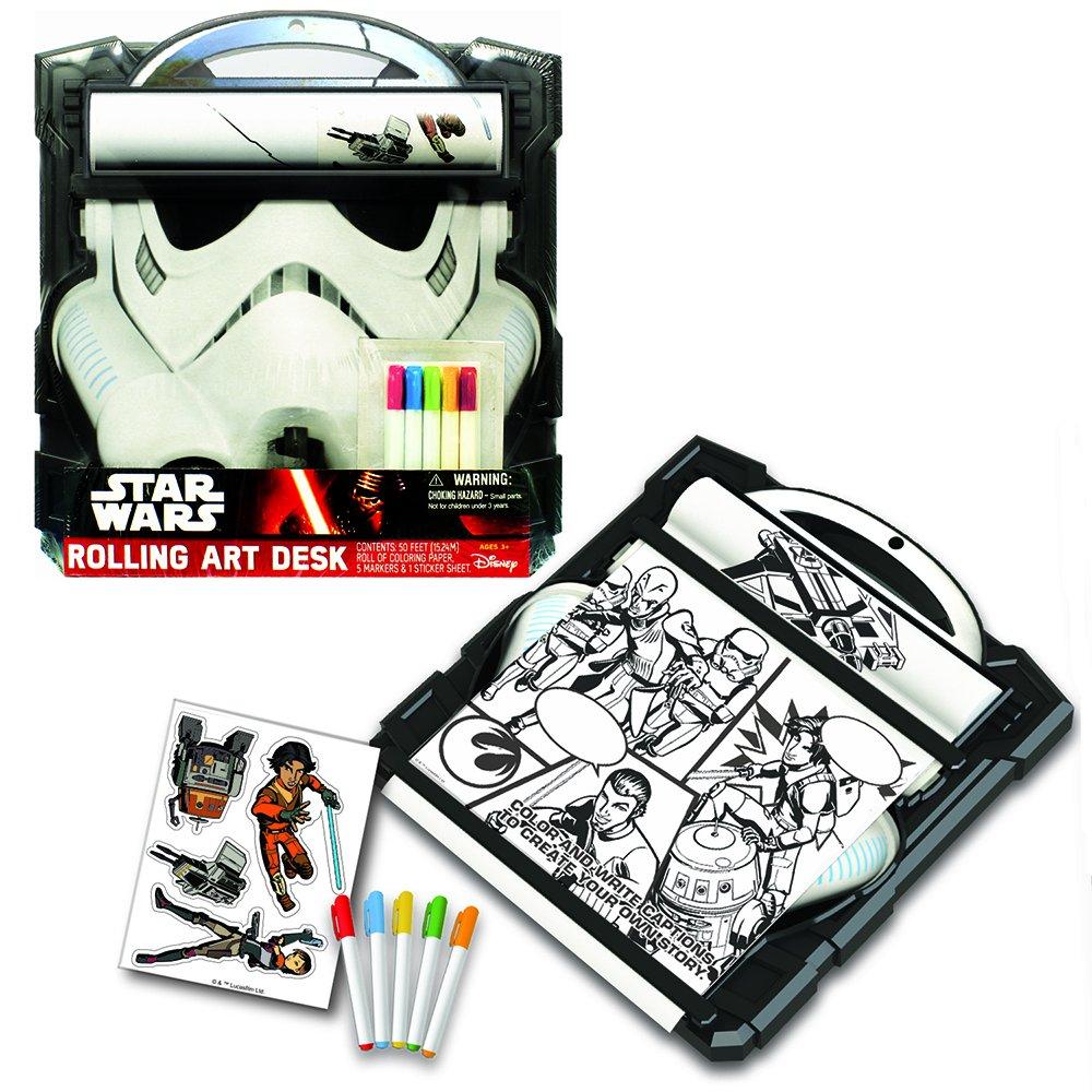 amazon com star wars storm trooper rolling art desk play set