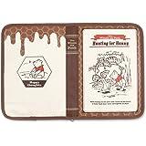 クーザ 片面ジャバラタイプ マルチケース ブック型 くまのプーさん DKJB-2506K 保険証・母子手帳・診察券・キャッシュカード等をまとめるのに便利なケース
