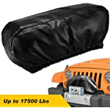 Seven Sparta Winch Cover Heavy Duty Waterproof Winch Protection Cover, Dust-Proof,Universal Winch Protective Cover for…