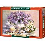 Castorland - C-102006-2 - Puzzle - Hardwick - Lilas et Roses - 1000 Pièces