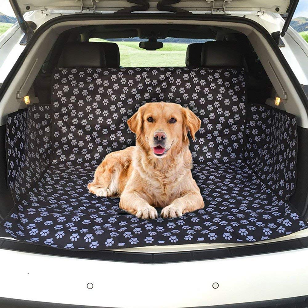 Car Back Seat Cover Boot Liner Predector Pet Cover Durable Waterproof Fits Most Cars, SUV, Vans, Trucks (155  104  33cm)