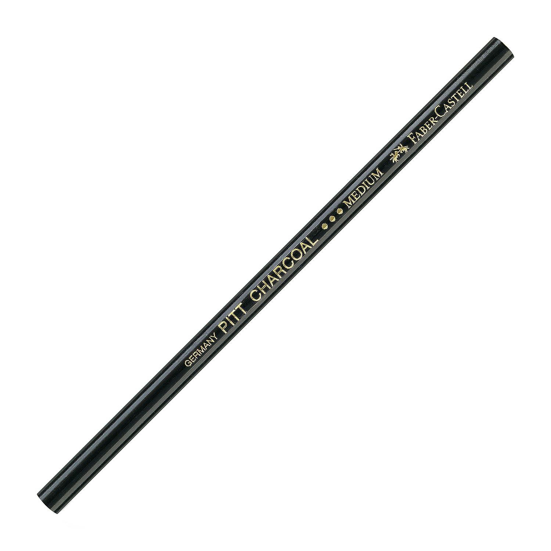 Faber-Castell PITT 1pièce(s) Noir fusain - fusains (Noir, Noir, 1 pièce(s)) F117400