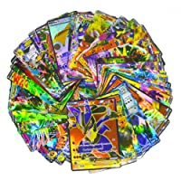 100 Assorted Pokemon Trading EX Cards with 10 Free Rare Card