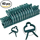 Sago Brothers Plant and Flower Clips 40 PCS for Supporting Stems, Vines, Stalks