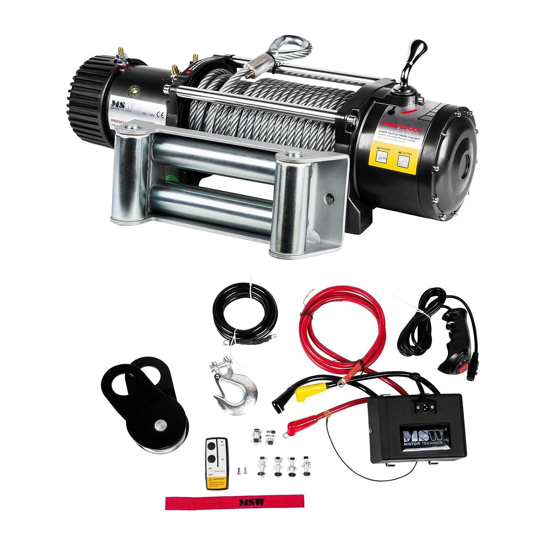 MSW Motor Technics - PROPULLATOR 2000-A - 2.000 lbs - 907 kg - 12V - Enví o Gratuito