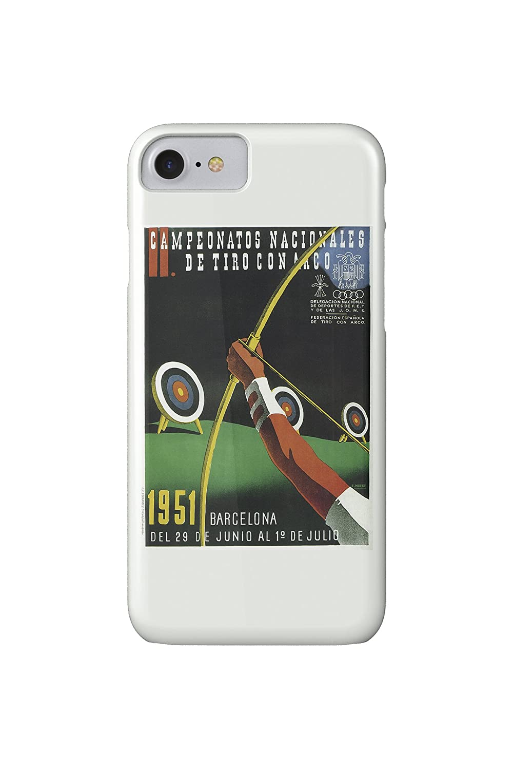 Archery Competition Promotion Vintage Artwork (iPhone 7 Cell ...