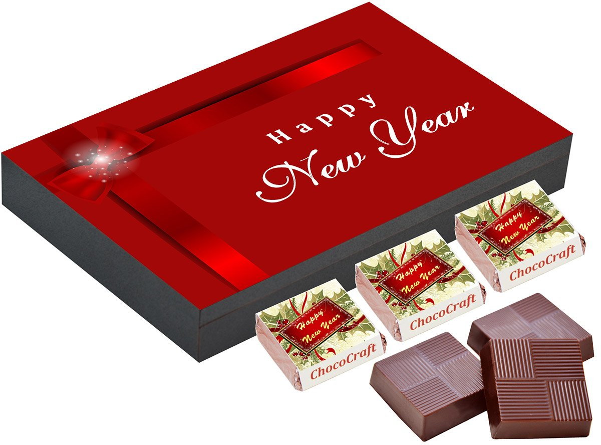 New year gift 12 chocolate gift box new year gift for new year gift 12 chocolate gift box new year gift for girlfriend amazon grocery gourmet foods negle Choice Image