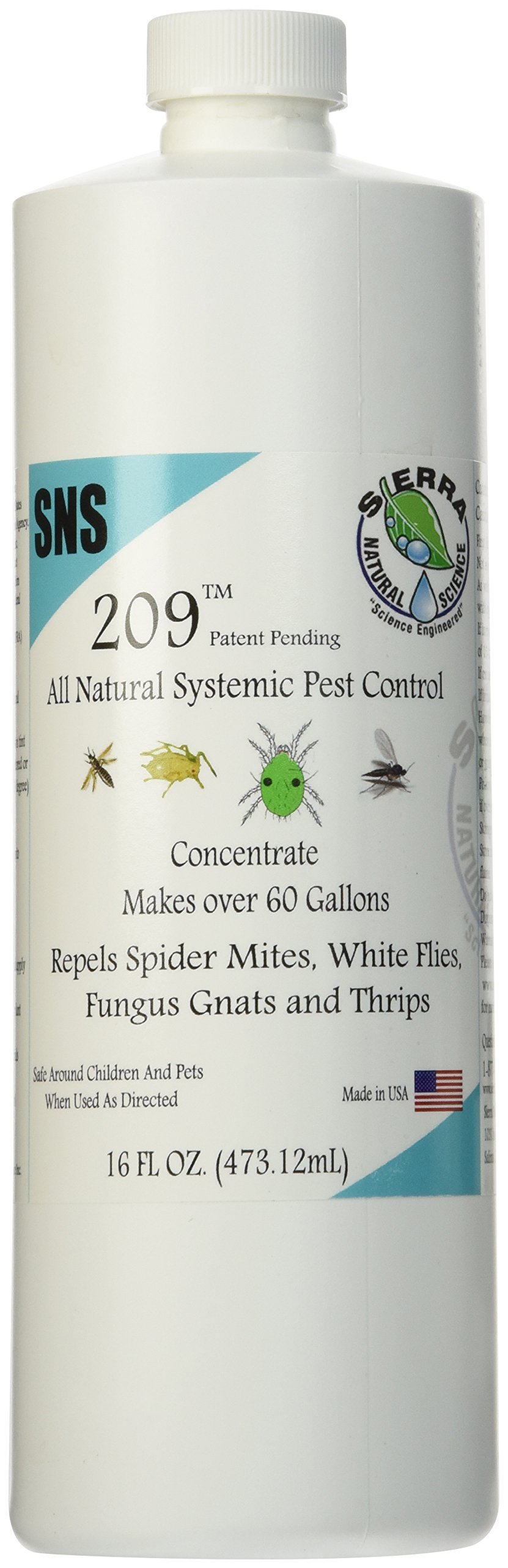 Sierra Natural Science Systemic Pest Control Concentrate -1 Pint by Sierra Natural Science