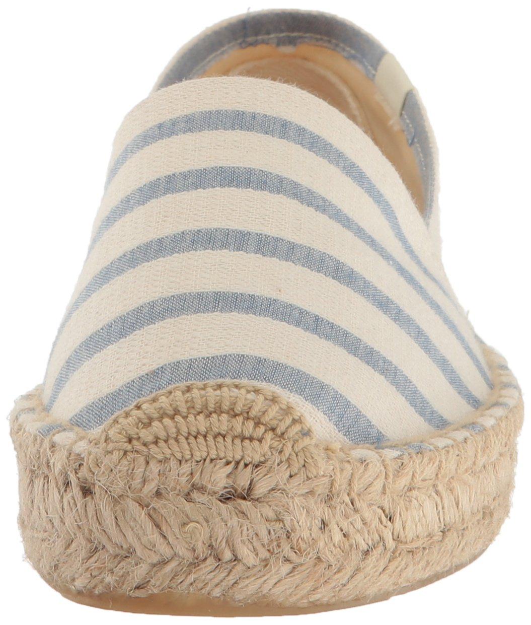 Soludos Women's Striped Original Platform Slipper B06X6CZ2JK 5.5 B(M) US|Natural/Blue