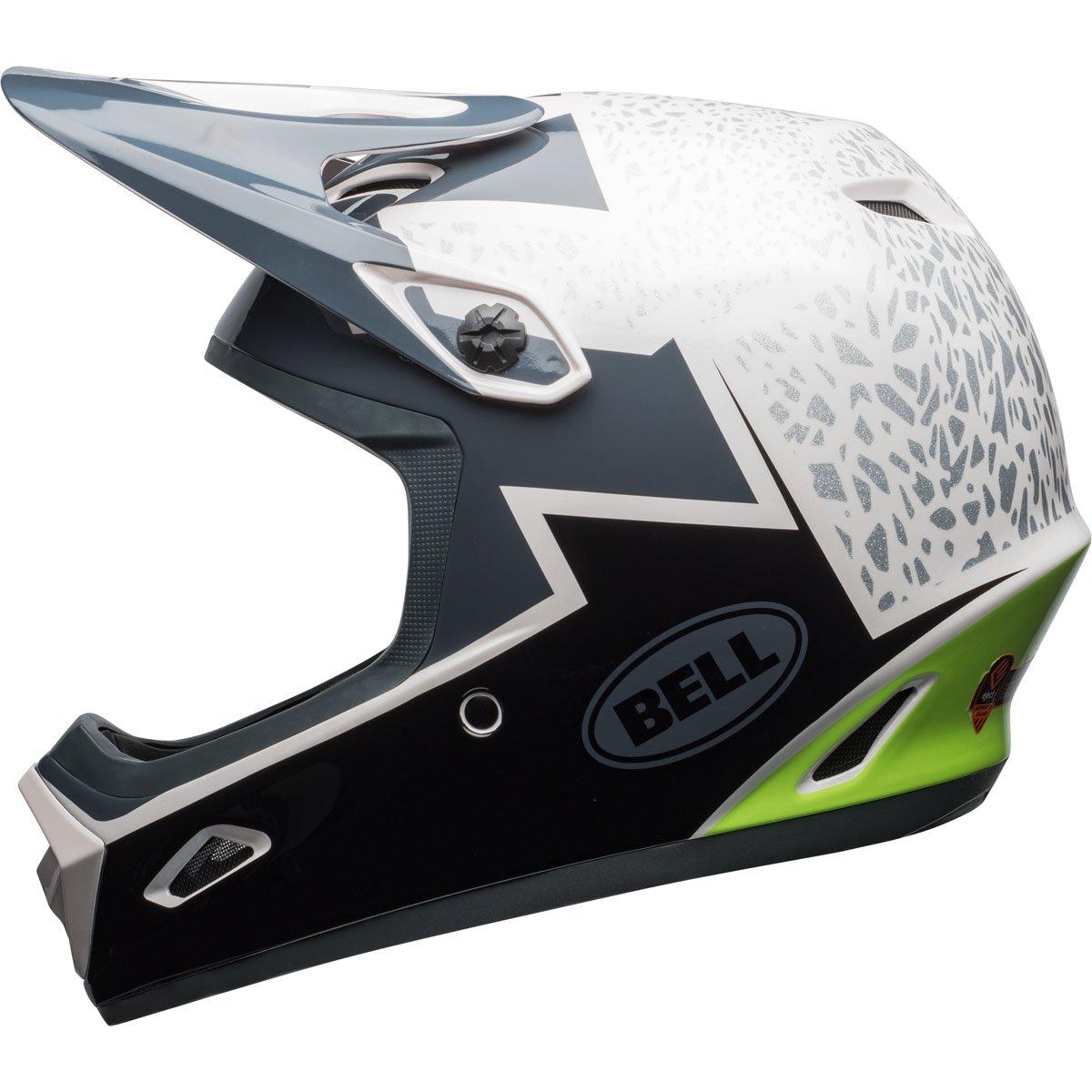 Bell transfer-9 Bikeヘルメット Small Gloss Pear/Lead/Silver Revolution B076KZFTWW