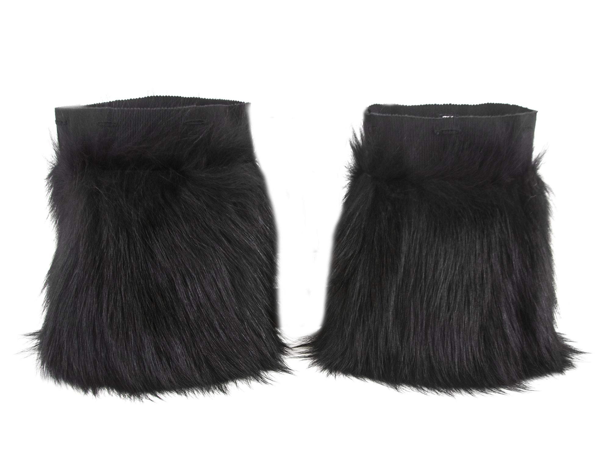 'S Max Mara Women's Barone Fox Fur Cuffs One Size Black