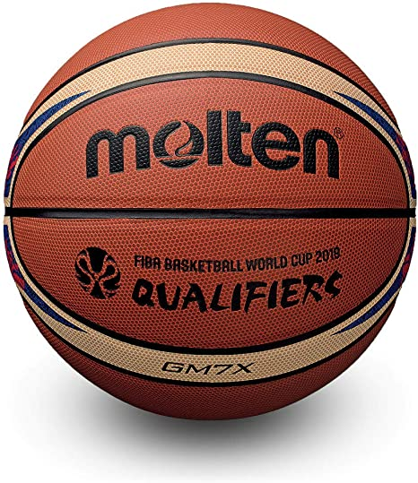 MOLTEN GM7X Fiba World Cup Qualifier - Balón de Baloncesto (Talla ...