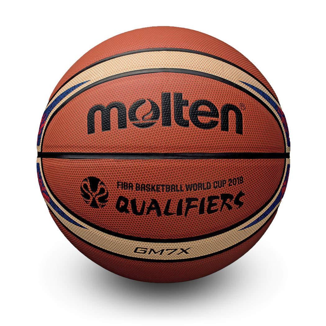 MOLTEN GM7X Fiba World Cup Qualifier - Balón de Baloncesto (Talla ...