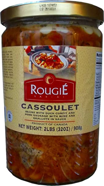 Amazon.com : Rougie Cassoulet with Duck Confit Fully Cooked, 2 lb ...