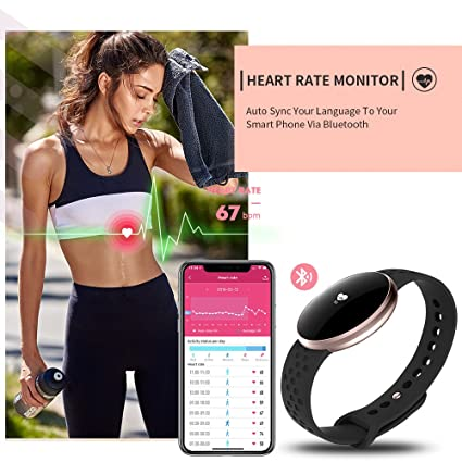 Amazon.com: Women Smart Watch for iPhone Android, Fitness Tracker Touchscreen with Heart Rate Sleep Monitor, GPS Waterproof Call SMS Reminder Smart Wrist ...
