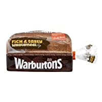 Warburtons Wholemeal With Rye Bread, 800g