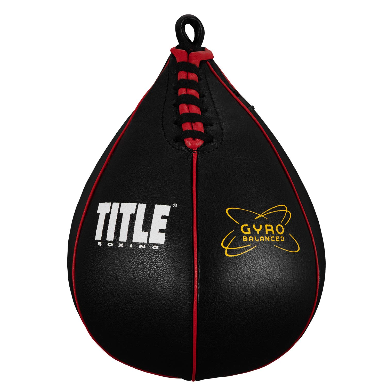 TITLE Boxing Gyro Balanced Speed Bags, Black, Small by Title Boxing