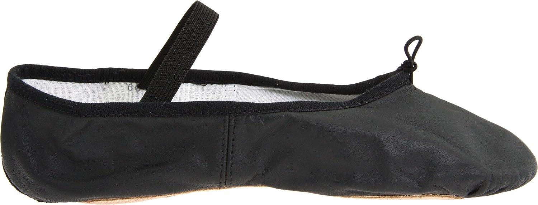 7 Medium Black Bloch Dance Womens Dansoft Full Sole Leather Ballet Slipper//Shoe