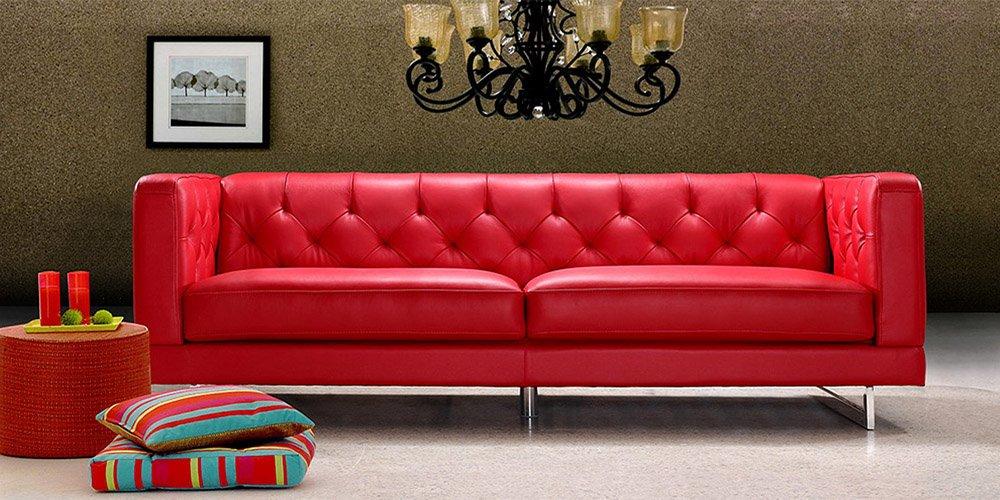 Calia Maddalena–Sofa Typ Cartier, Stoff Mikrofaser Divano 2 posti 2 sedute 180cm Tessuto Microfibra Verde