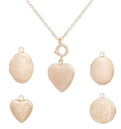 083e12060 Amazon.com: YEYA Locket Necklaces Heart Shaped Oval Disk Pendant Necklace  for Woman Girls Handmade Engraved Locket Choker Necklace Statement Jewelry  (Gold): ...