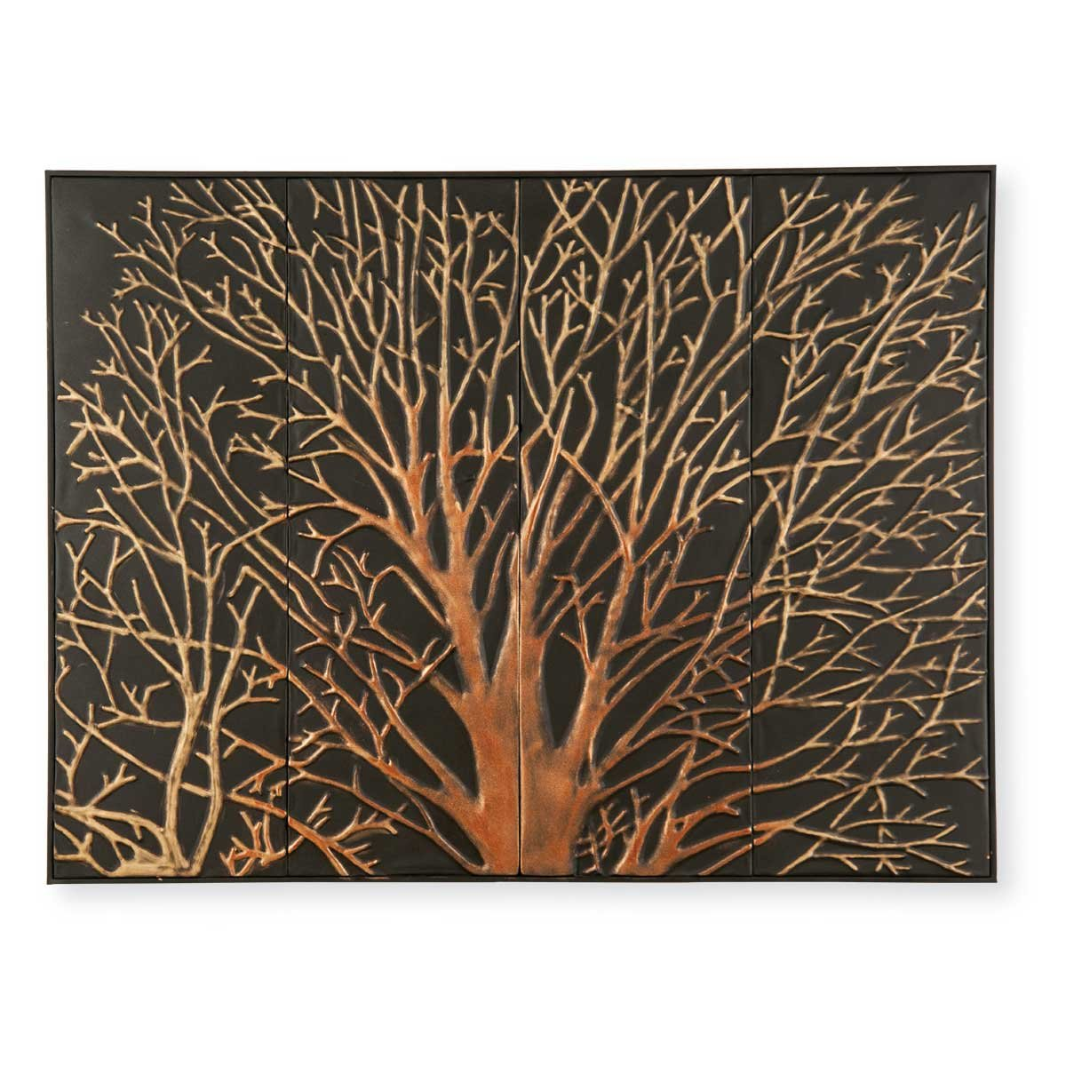Amazon.com: Foreside Home & Garden Foreside Mystic Tree Wall Art ...