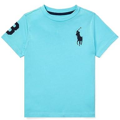 59b80d333 Amazon.com: Ralph Lauren Boys Toddler Polo Big Pony Tee: Clothing