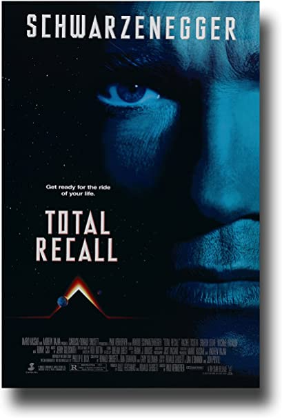 Total Recall Movie Poster 24in x36in