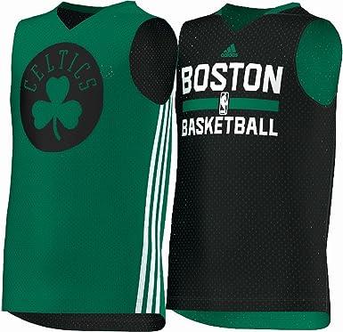 Adidas Camiseta Reversible de Verano para Hombres Verde Green - Boston Celtics 14 años