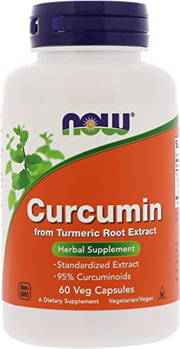Now Foods, Curcumin Extract 95, 60 Veg Capsules