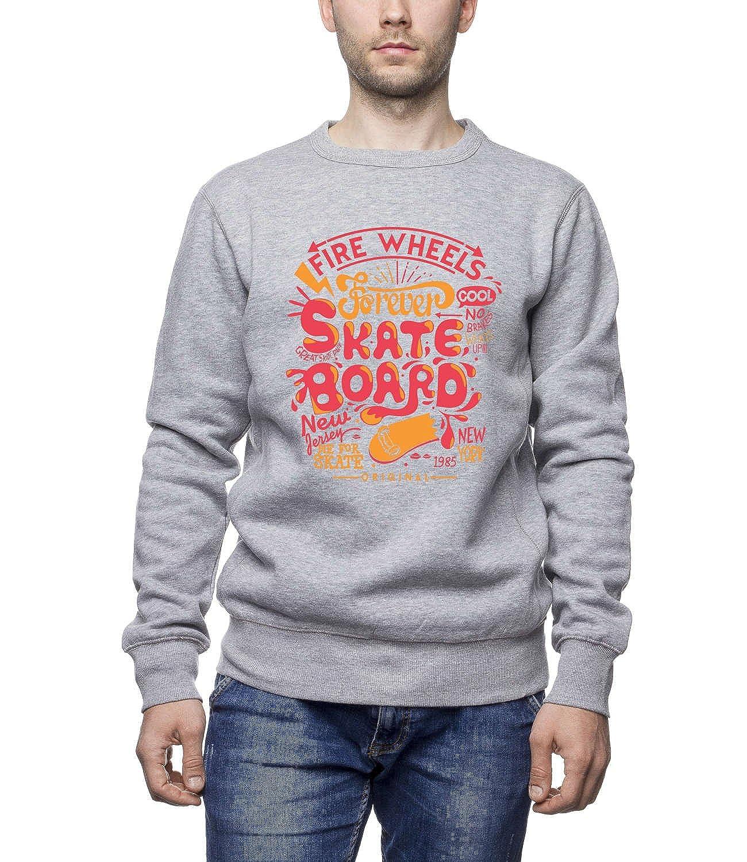 Fire Wheels Forever - Skate Board Women's Unisex Sweatshirt