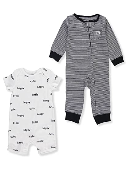 1b0e49340 Amazon.com  Carter s Baby Boys  2-Pc. Jumpsuit and Romper Set  Clothing