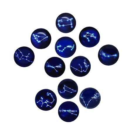 WOVELOT Serie de 12 Constelaciones Imanes de refrigerador de ...